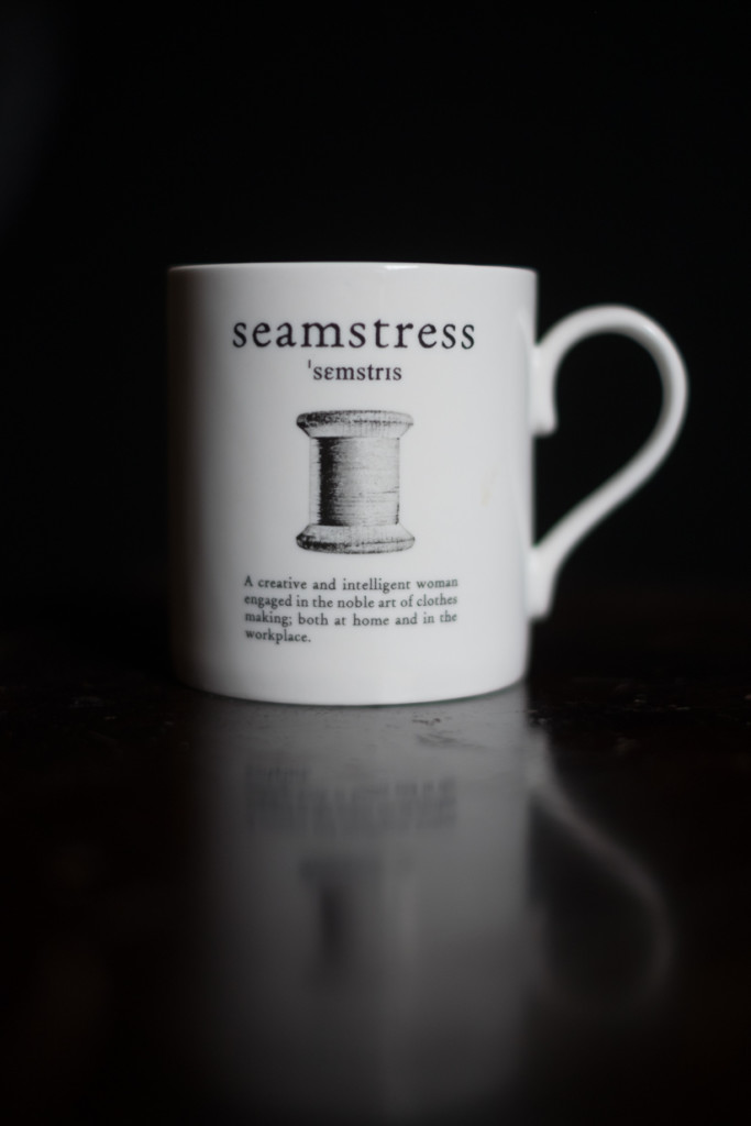 Seamstress Mug gift sewing